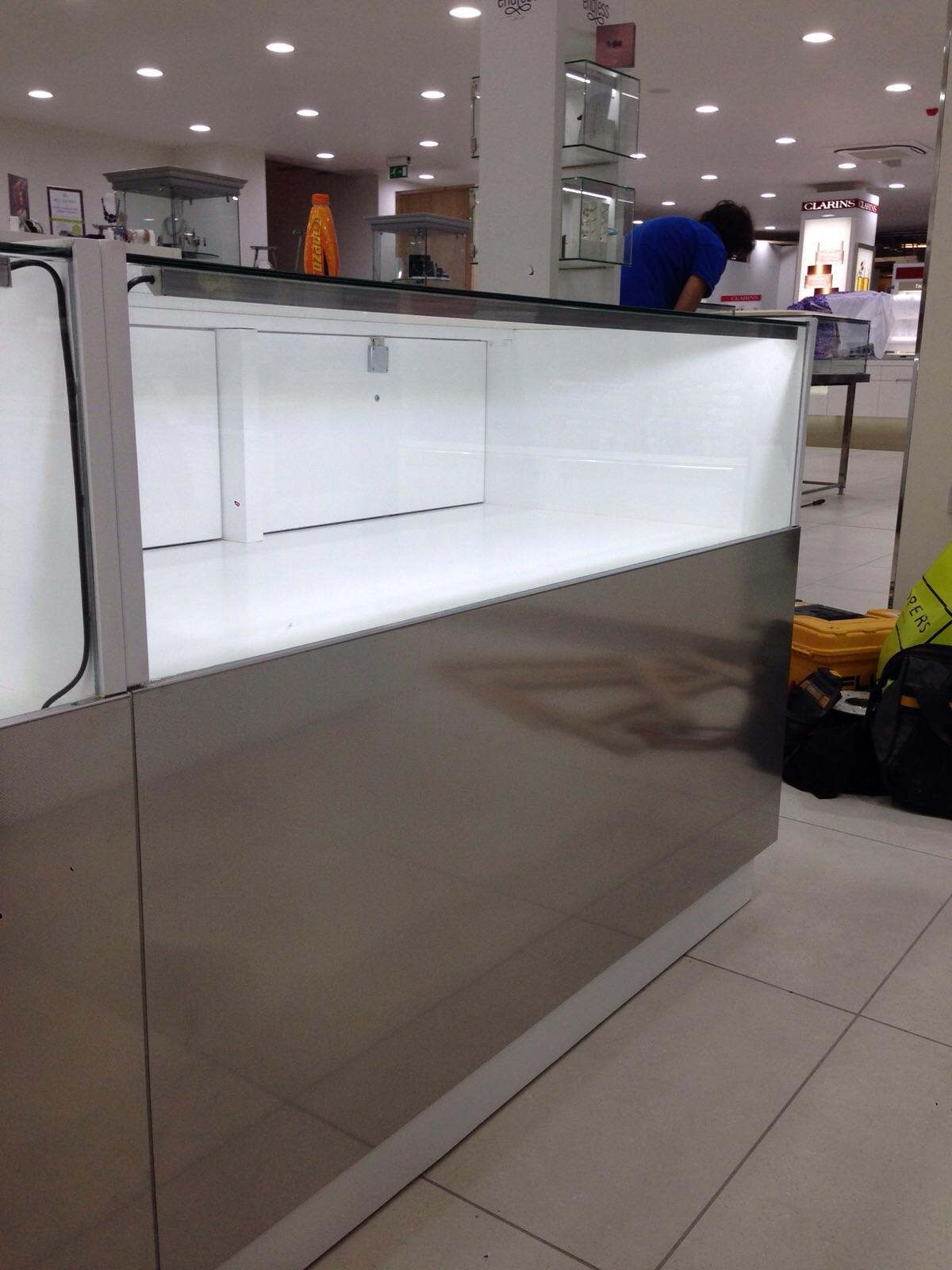 Shop Display Cabinet Lighting