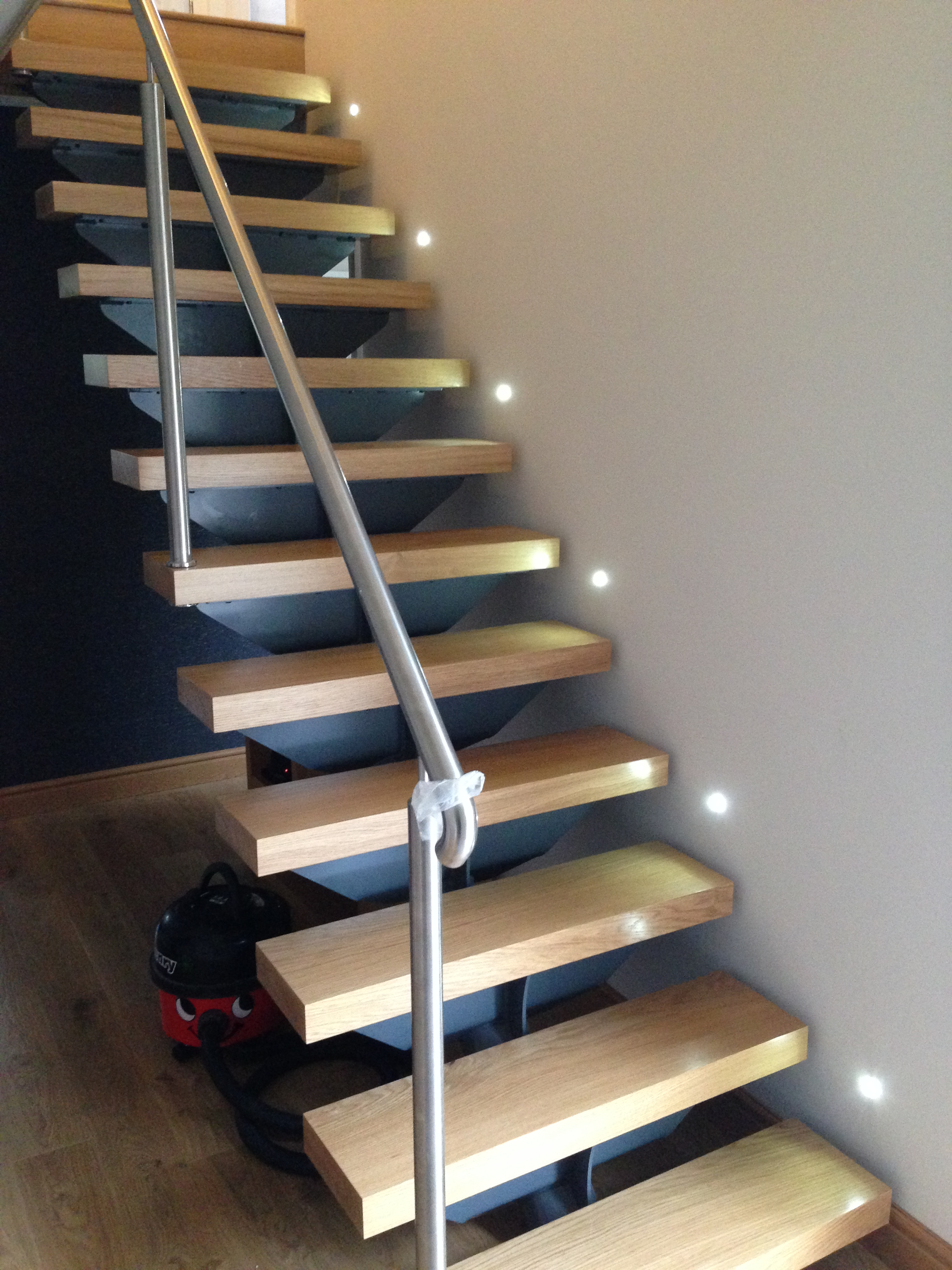 Feature stair and wall lights