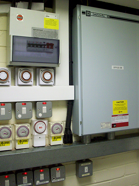 Commercial Electrical Services Distribution System