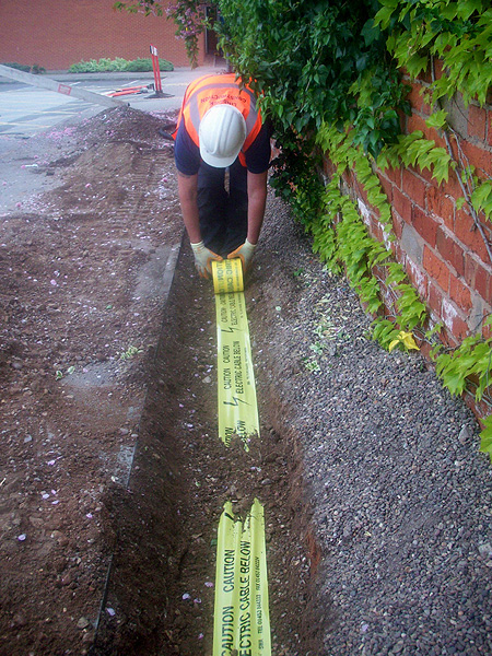 Commercial Electrical Services Underground Cable Installation