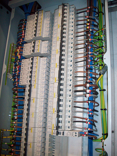 Commercial Electrical Services l Distribution Panel Installation