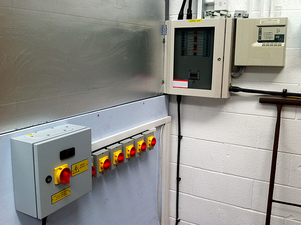 Commercial Electrical Services Heater Control System