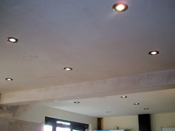Domestic Electrical Services Ceiling Spot Light Installation
