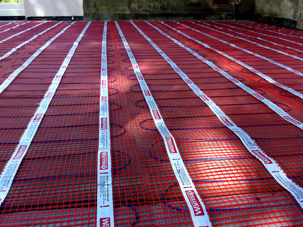 Domestic Electrical Services underfloor heating
